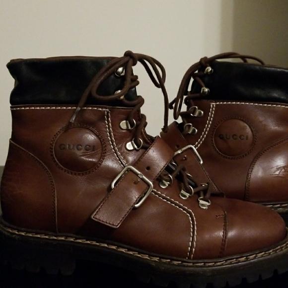 0cd264e1f9e Gucci Women's Hiking Boots - Sz 5.5b